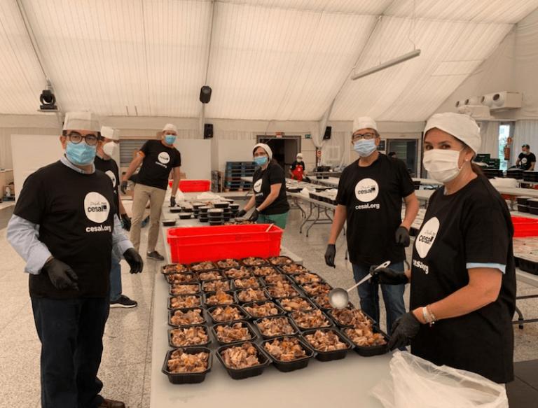 Solidaridad y voluntariado, presentes en Reale